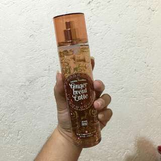 SALE !! Bath And Body Works Gingerbread Latte Mist
