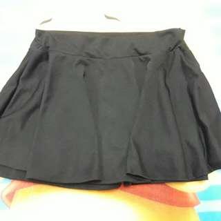 外面是裙子裡面是褲子