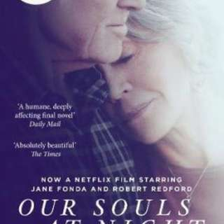 Our Souls at Night : Film Tie-In  3.95 (36,092 ratings by Goodreads) Paperback English By (author)  Kent Haruf