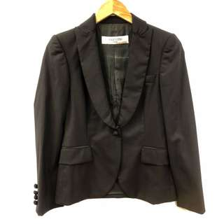 Valentino black jacket size 40