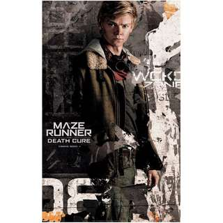 Maze runner the death cure solo C large poster version