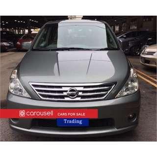Nissan Presage 2.5A (COE till 03/2026)