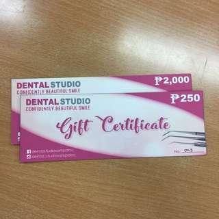 Dental Studio Coupon