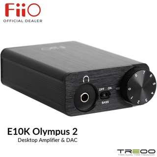 FiiO E10K Olympus2 Desktop Headphone Amplifier & USB DAC