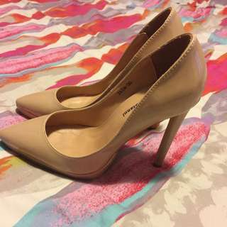 Nude Pump Stiletto Heels Size 36