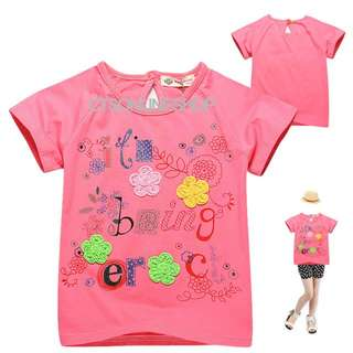 [Buy 3 for $10] Girls Graphic T-shirt/ Girlss Clothing WY63031A