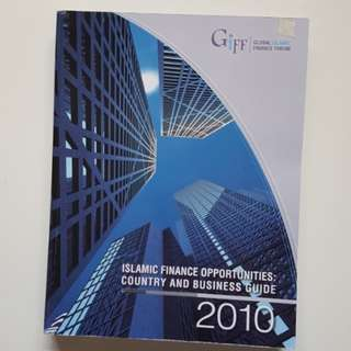 ISLAMIC FINANCE OPPORTUNITIES: COUNTRY AND BUSINESS  GUIDE