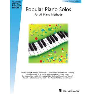 Hal Leonard - Popular Piano Solos, lvl 1, 2nd edition