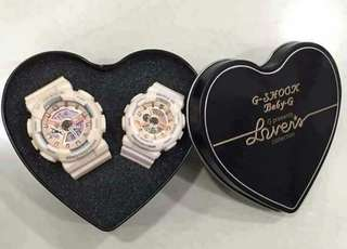 Couple watch (OEM gshock & baby G)