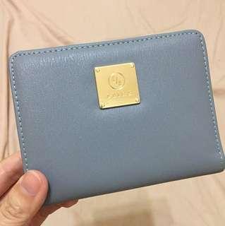 Saime 東京企劃 吉兒系列灰藍色短夾