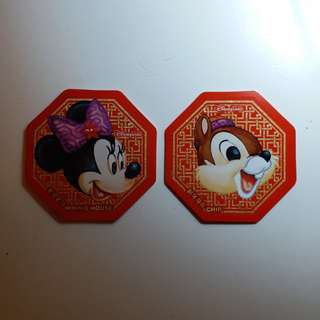 Disney/Disneyland/Minnie/迪士尼貼紙