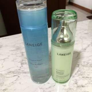 Laneige Balancing Emulsion Sensitive and Power Essential Skin Refiner Light