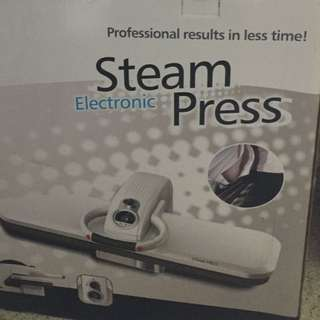 Electronic steam press