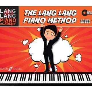 The Lang Lang Piano Method. level 1