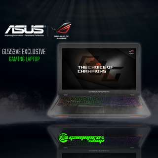 ASUS GL553VE-FY084T EXCLUSIVE (GTX1050Ti 4GB GDDR5)