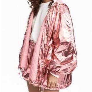 H&M Metallic Jacket (Brand new)