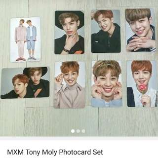 [Ready Stock] MXM Tony Moly Photocard Set
