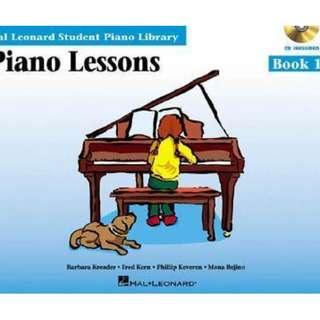 Hal Leonard - Piano Lessons book 1