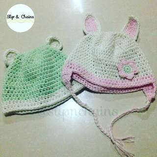 BABY HAT MADE TO ORDER COTTON