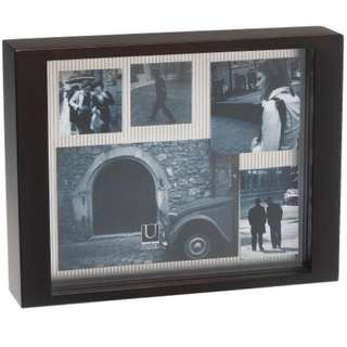 Ether espresso multi layer photo frame