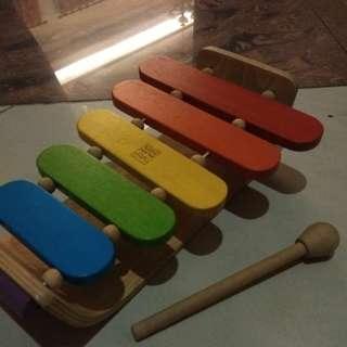 Plan toys wooden xylophone