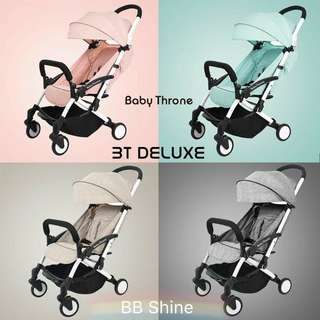 🆕 Baby Throne Stroller Deluxe Version