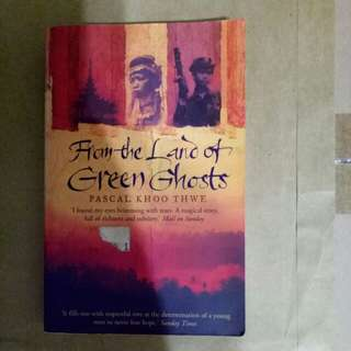 From the Land of Green Ghosts by Pascal Khoo Thwe, a story of a tiny Burmese tribe famous for giraffe necked women forced to flee by corrupt military dictatorship.