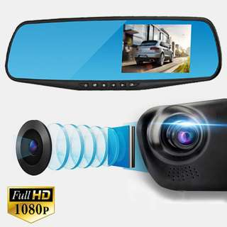 Car Front Rear View Camera DVR FHD1080p
