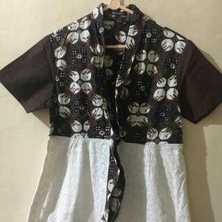 Batik Melati Brown