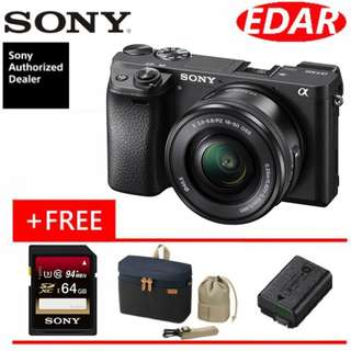 SONY A6300 Kit 16-50mm Lens (ORIGINAL & OFFICIAL SONY)