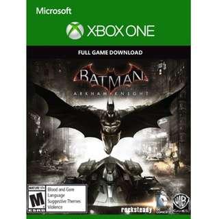 Xbox One Batman Arkham Knight Xbox One Justice League