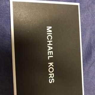 全新Michael Kors銀包連匙扣