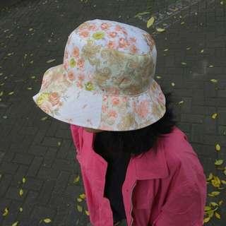 Floral Bucket Hat #topi