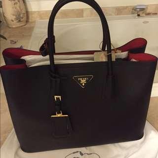 Prada Double Cuir Bag