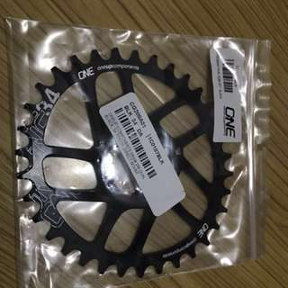 OneUp Component Sram Direct Mount Oval ChainRing