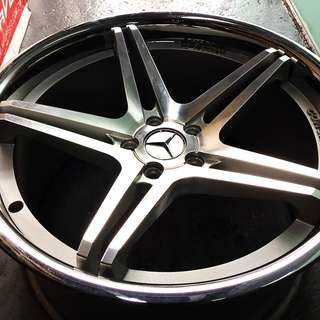 "Pre-Owned 19"" Mercedes Vertini Sports Rim"