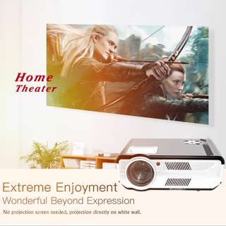 SD200 Android LCD Projector 2800 Lumens 1080P ( Can be used in lighted condtion )