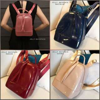 JELLY BACKPACK 20CM GLOSSY