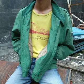 Green Casual Jacket