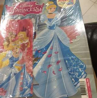 Disney princess magazine with free red packets