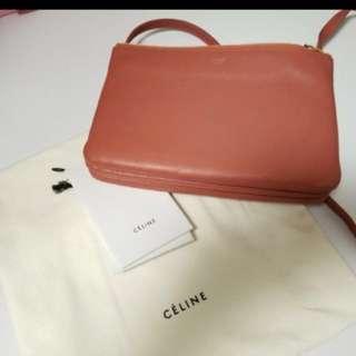 Celine trio small bag 三層小斜垮包