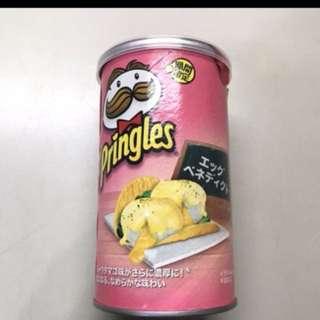 品客Pringles水波蛋佐荷蘭葉醬味洋芋片 期間限定款