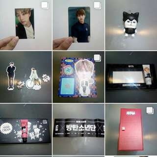 BTS Items Readystock