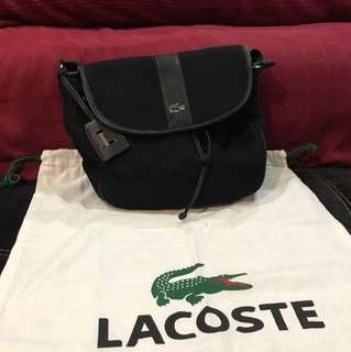 LACOSTE SLING BAG SEC-Hand (Price Nego)
