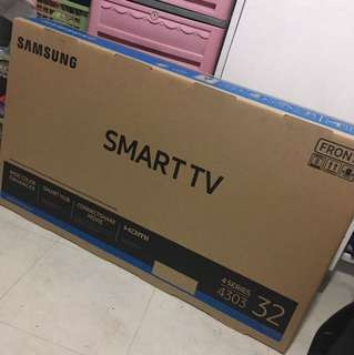 Bnew Samsung Smart Tv 32 inches