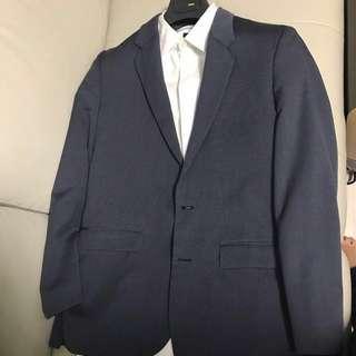[一折出售]3皮野1套 法國頂級西裝 Maison Martin Margiela MMM 超Slim Cut Suit