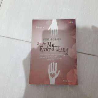 Novel You Are My Everything by Kim Hye Ri