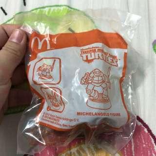 BN McDonald's Teenage Mutant Ninja Turtles Michelangelo Toy