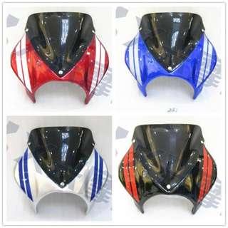 Honda CB400SF CB400 SF Vtec windshield windscreen wind screen shield 1 2 3 revo
