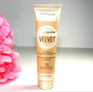 Maybelline Dream Velvet Foundation 75